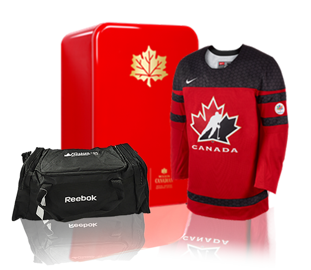 Molson Bag, Jacket and Mini Fridge